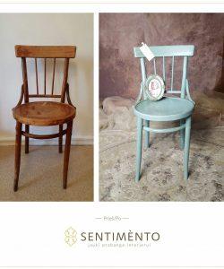 Kėdės perdažymas